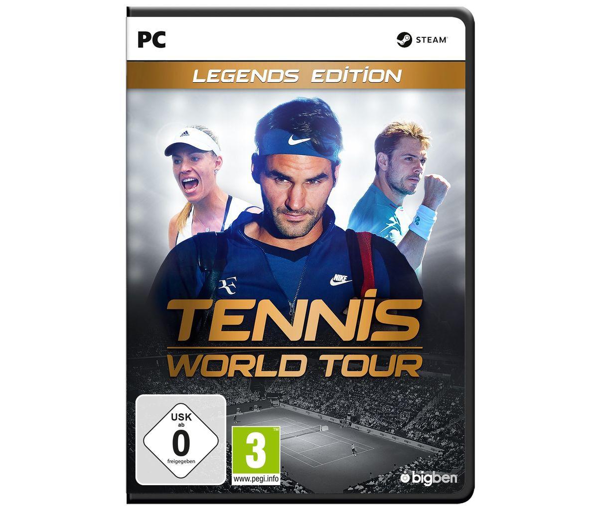 BigBen PC - Spiel »Tennis World Tour - Legends ...