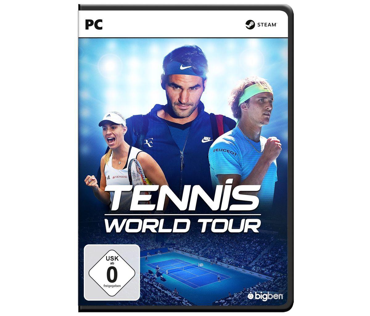 BigBen PC - Spiel »Tennis World Tour«