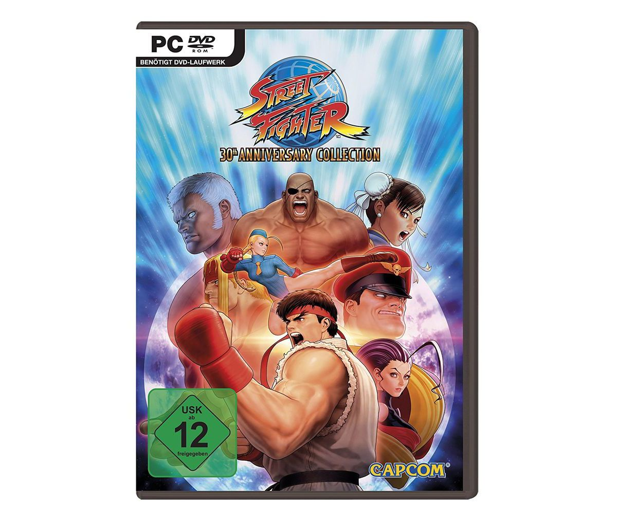 Capcom PC - Spiel »Street Fighter Anniversary C...