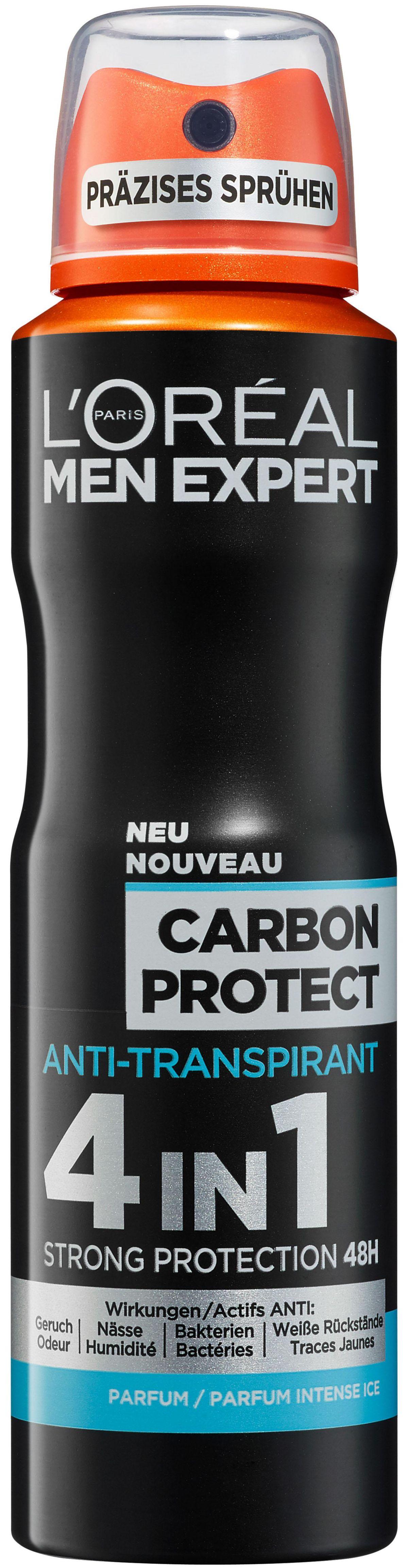 L´oréal Paris Men Expert, »Carbon Protect«, Deo-Spray