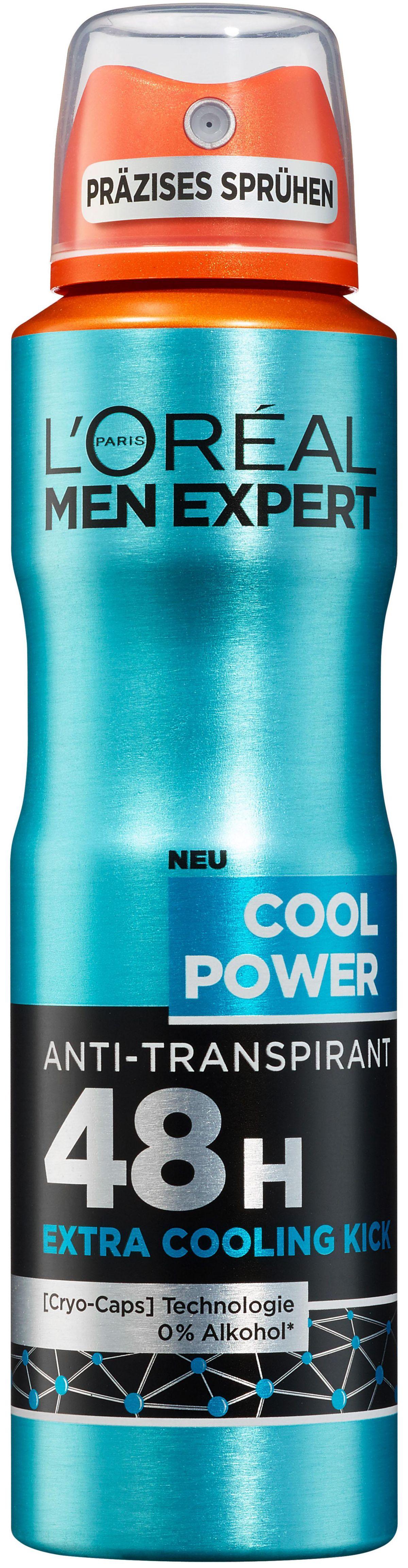 L´oréal Paris Men Expert, »Cool Power«, Deo-Spray