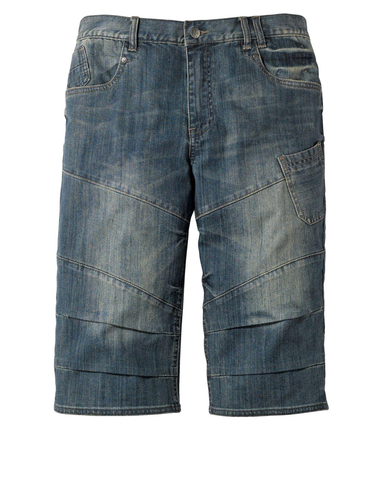 Men Plus by Happy Size Jeans-Bermuda