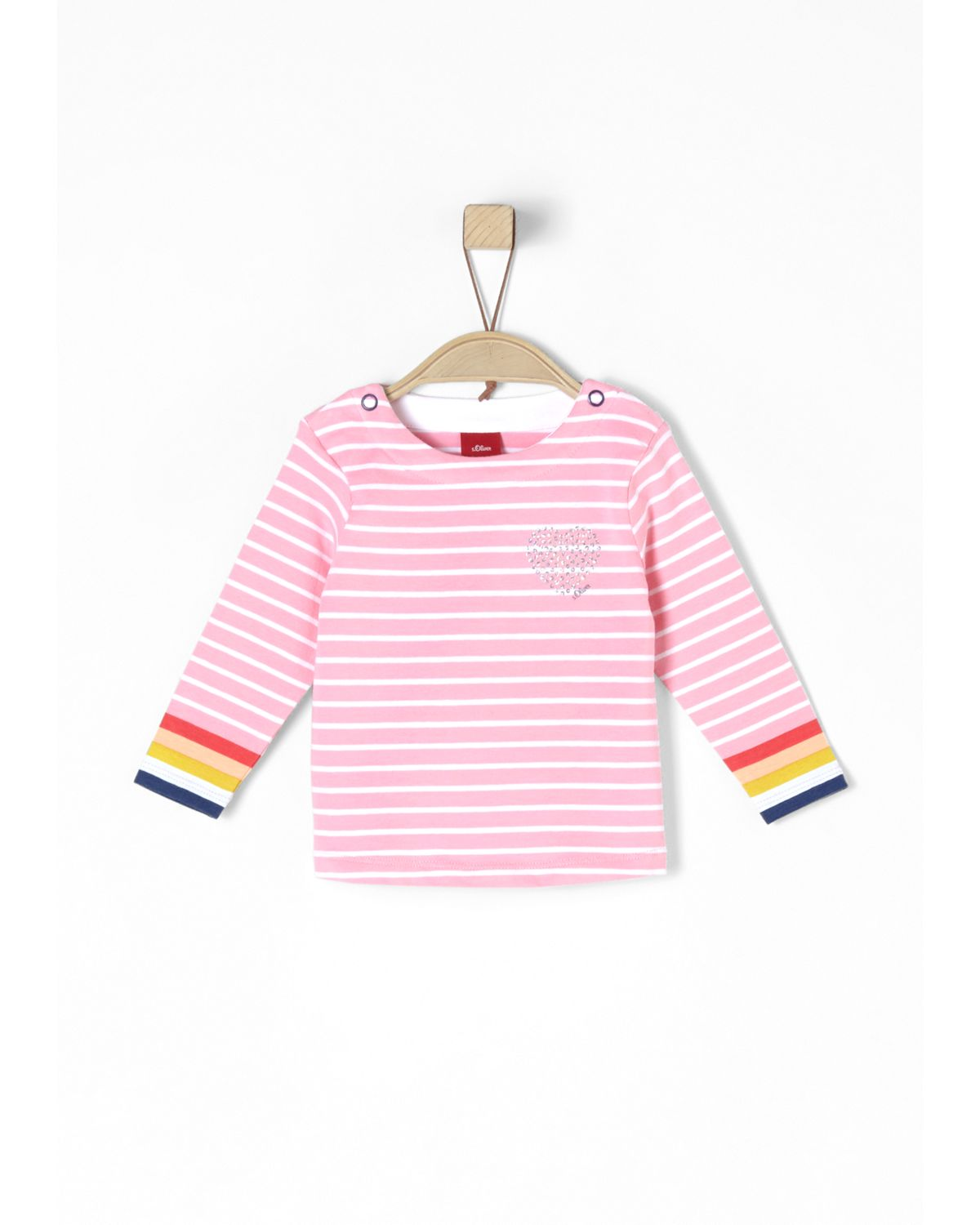 s.Oliver RED LABEL Junior Ringelshirt mit Glitz...