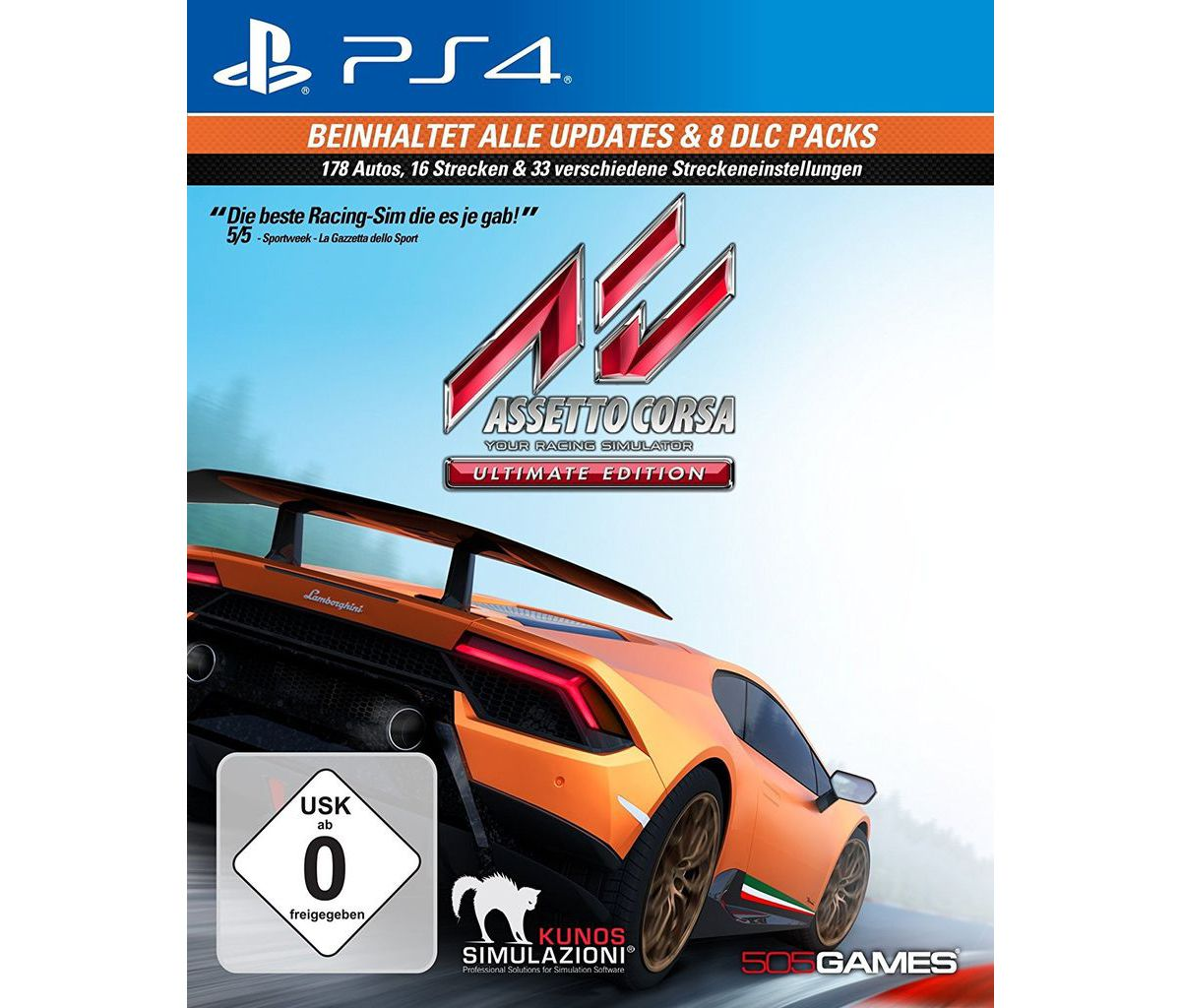 NBG Playstation 4 - Spiel »Assetto Corsa Ultima...