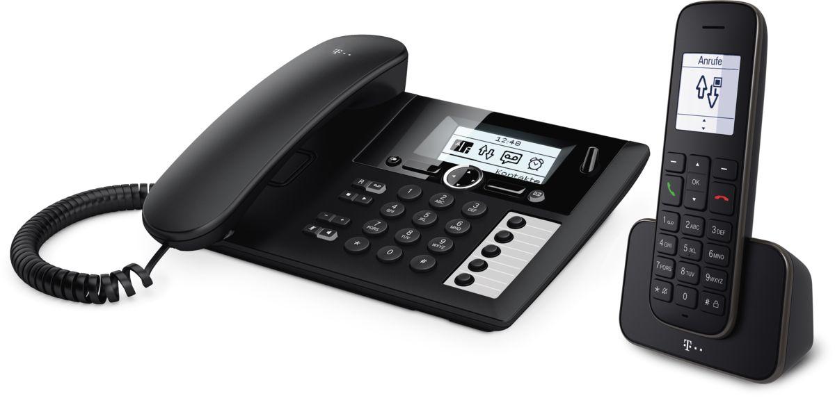 Telekom Telefon analog schnurlos »Sinus PA 207 plus 1«