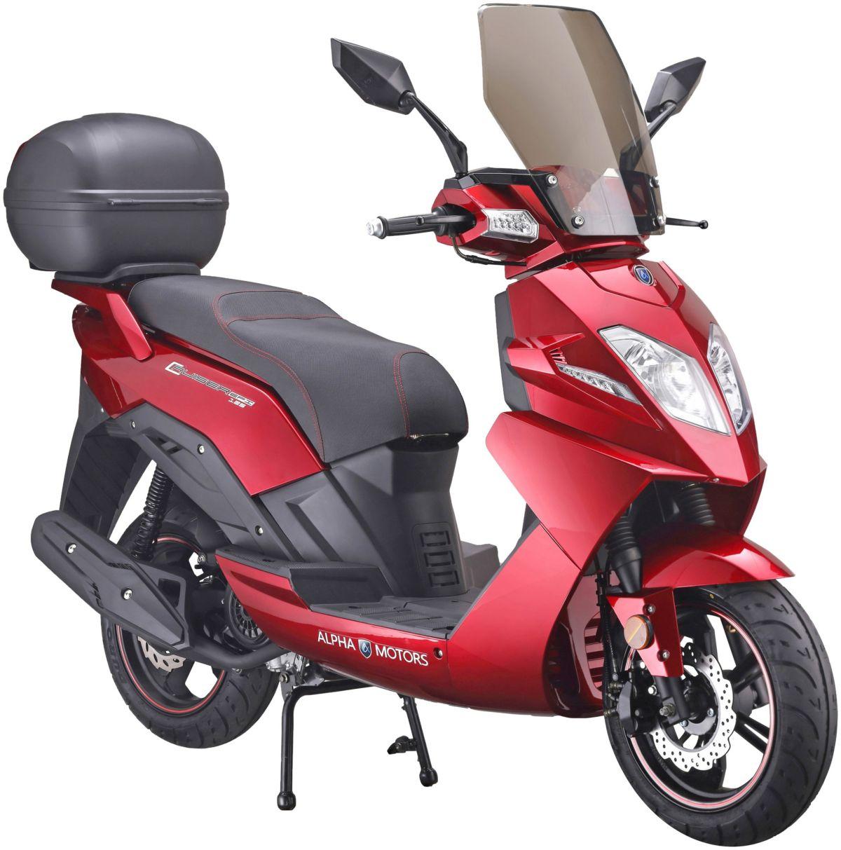 ALPHAMOTORS Motorroller »CRUISER«, 125 ccm, 80 ...