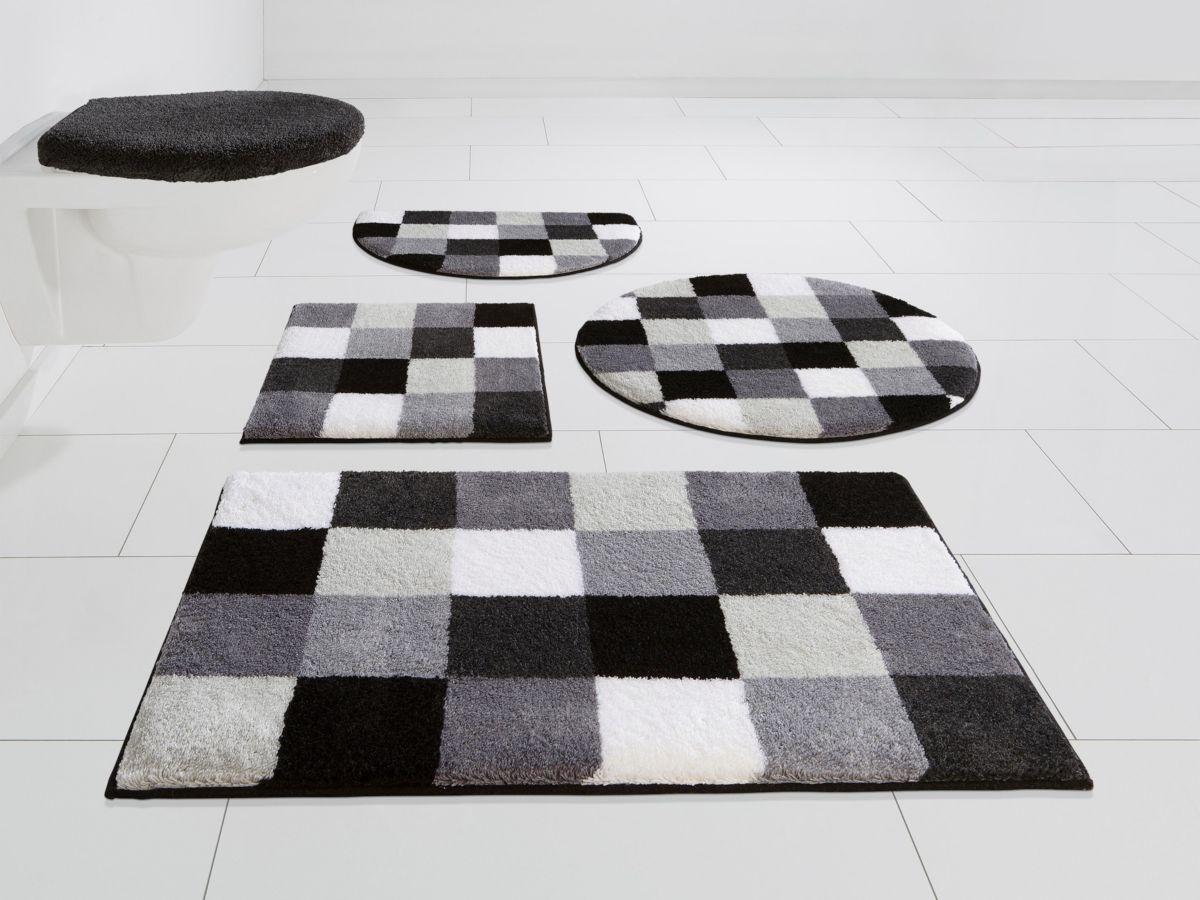 Badematte, »Mosaik«, Höhe 20 mm, rutschhemmende...