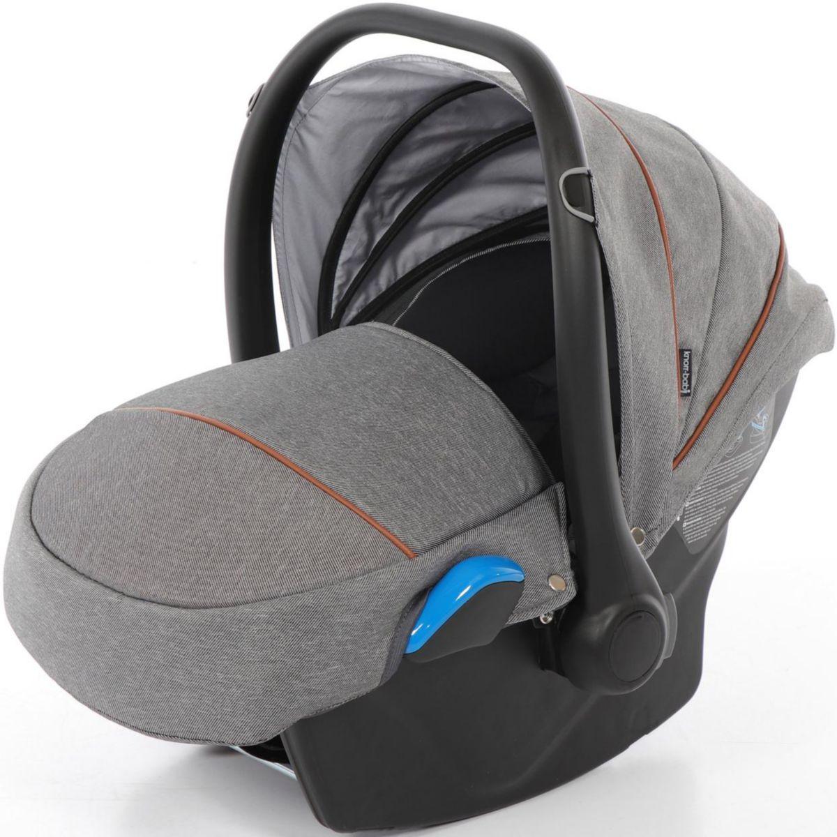 knorr-baby Babyschale, 0 - 13 kg, »Milan für Voletto Premium, grau«