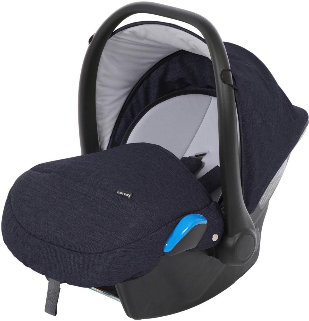 knorr-baby Babyschale, 0 - 13 kg, »Milan für Life+, blau«