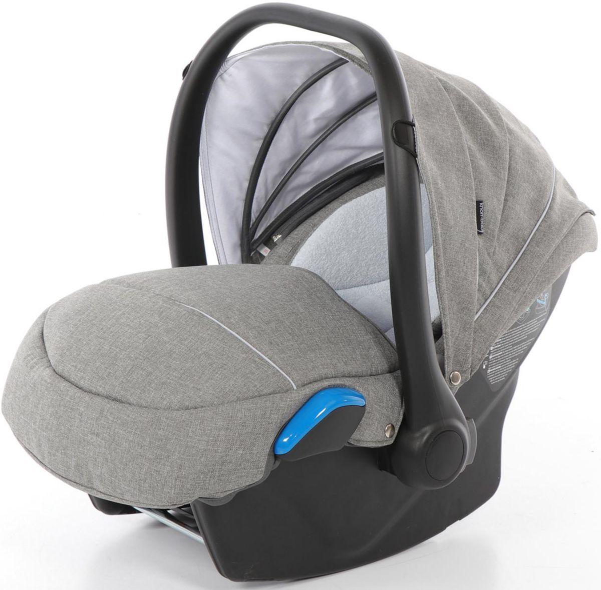 knorr-baby Babyschale, 0 - 13 kg, »Milan für Classico, hellgrau«
