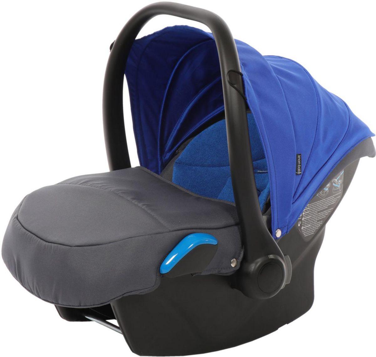 knorr-baby Babyschale, 0 - 13 kg, »Milan für Voletto Sport, grau-blau«