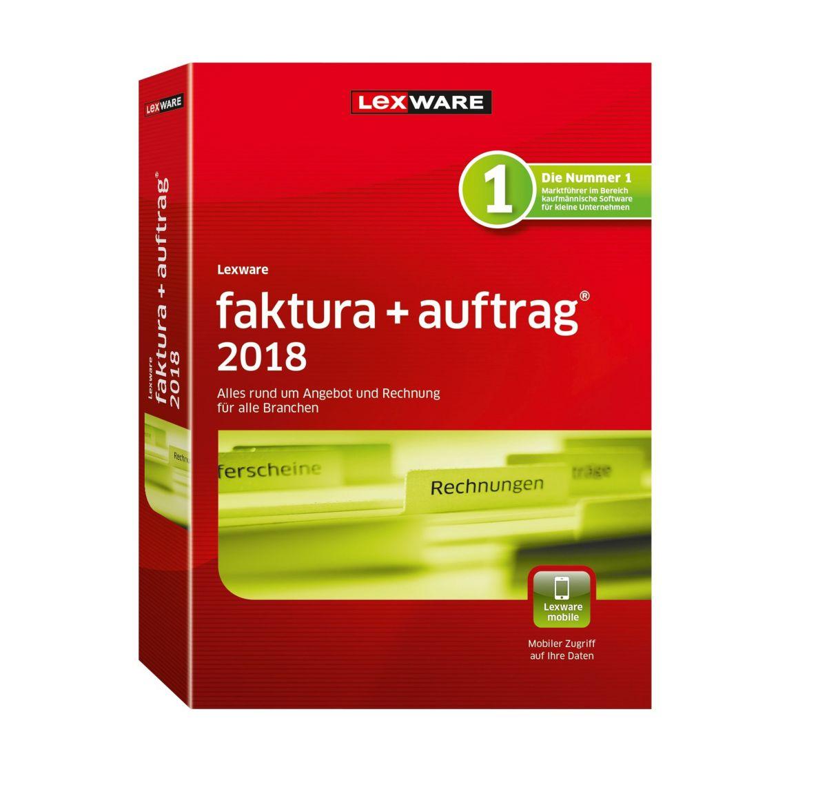 LEXWARE Faktura+Auftrag 2018 Jahresversion »(36...
