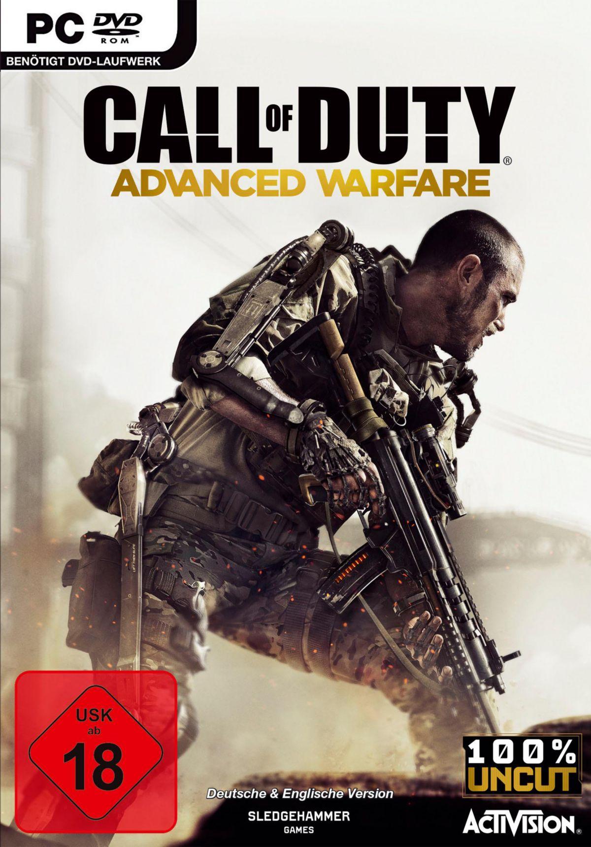 Call of Duty: Advanced Warfare PC (Blu-ray Disc)
