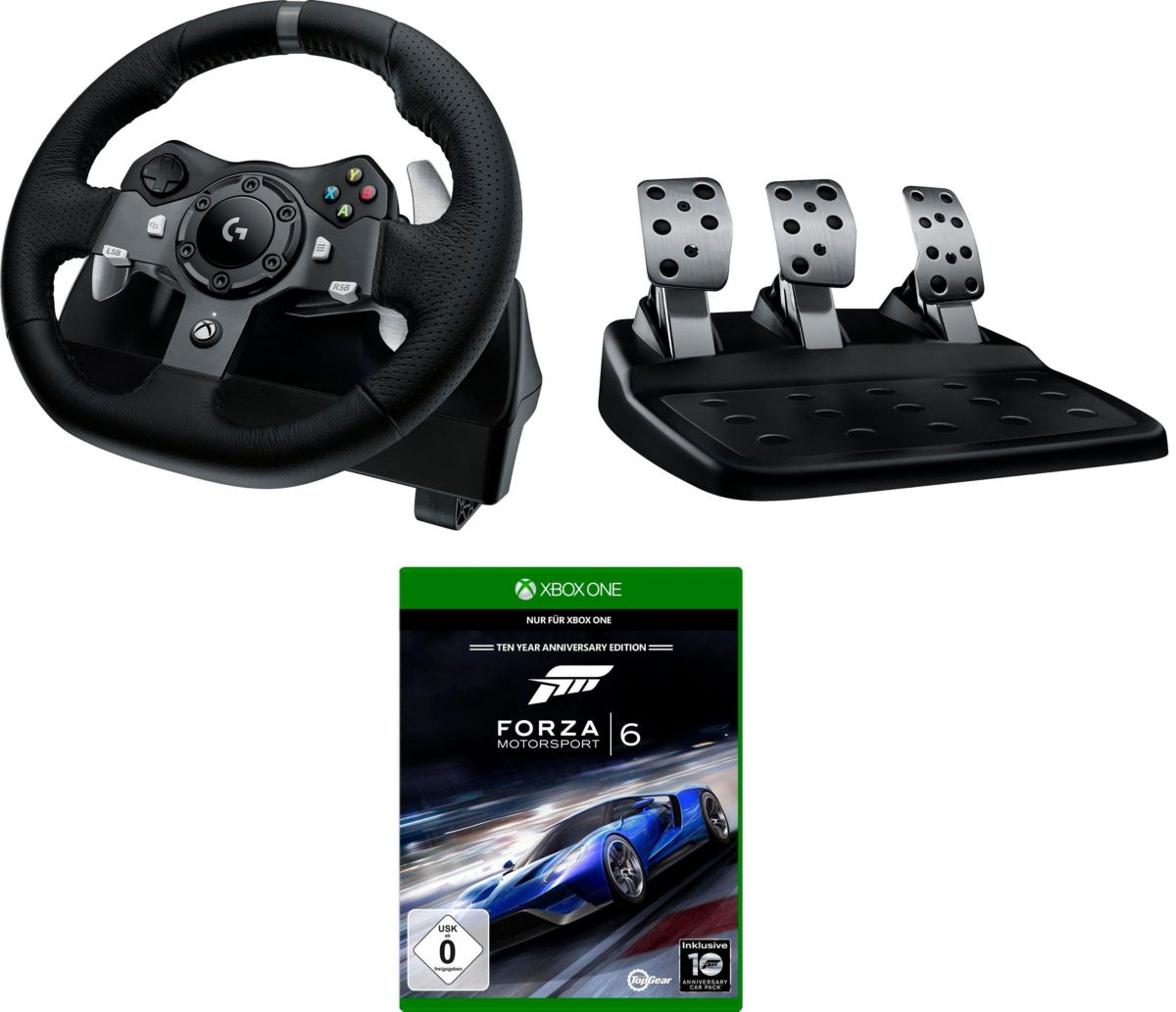 Logitech Games Lenkrad »G920 Driving Force Raci...