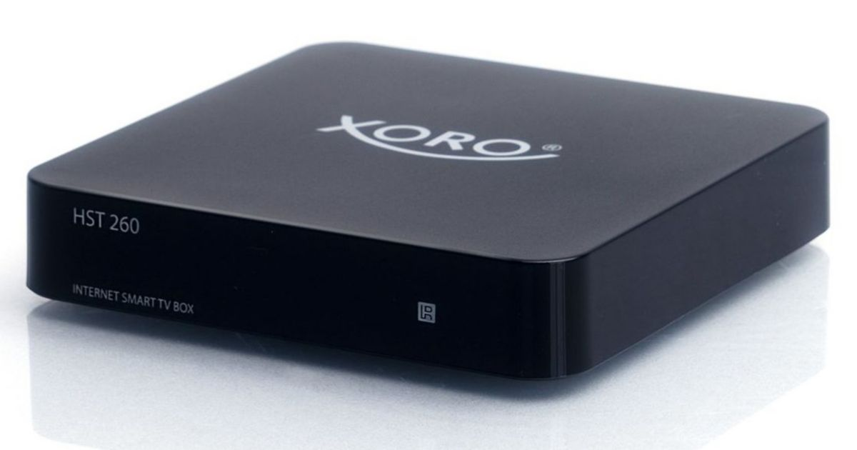 XORO Multimediabox WLAN »HST 260«