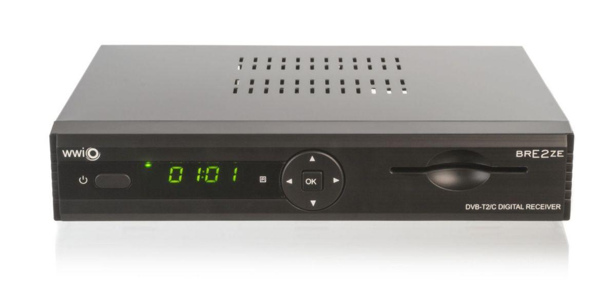 WWIO DVB-T2/C Combo Linux-Receiver mit PVR »BRE...