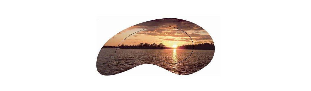 Home affaire, Wandbild, »Sonnenuntergang am Mee...