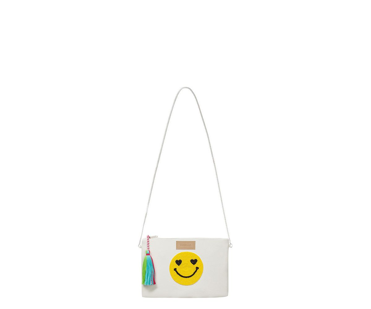 Codello Clutch mit Smiley