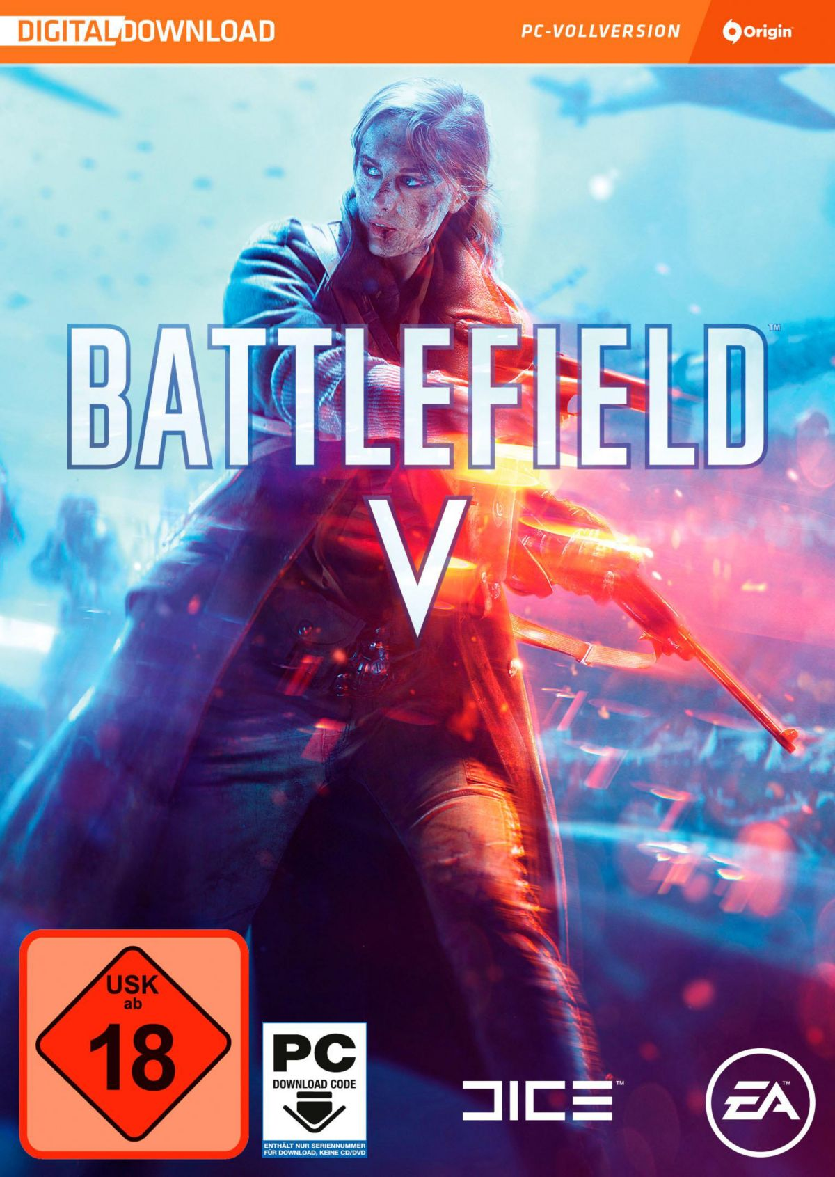 Battlefield V (Code in the Box) PC (Download-Code)