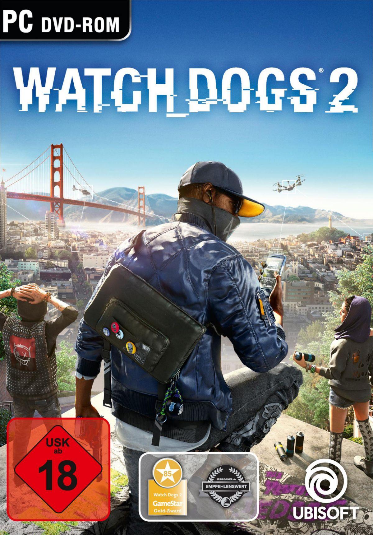 Watch Dogs 2 PC (Blu-ray Disc)