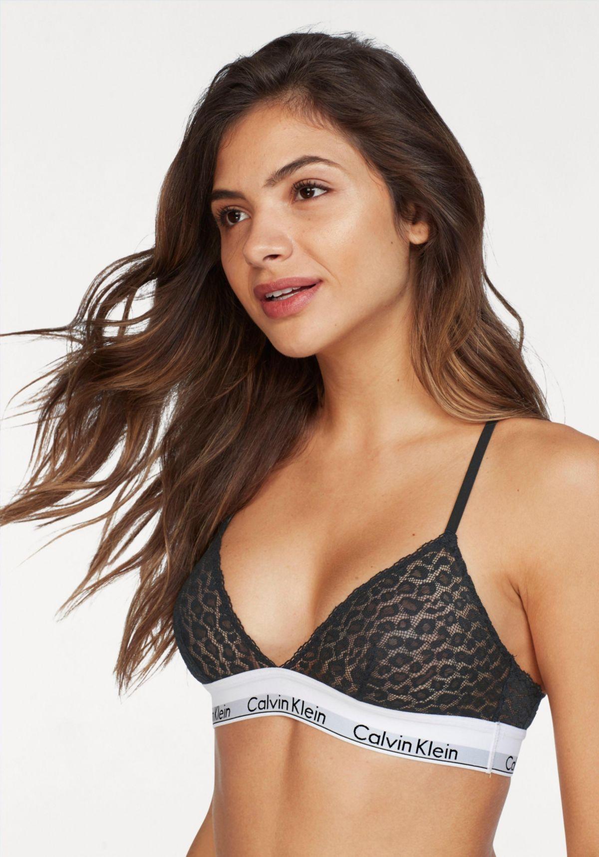 Calvin Klein Triangle Bustier »modern cotton lace«