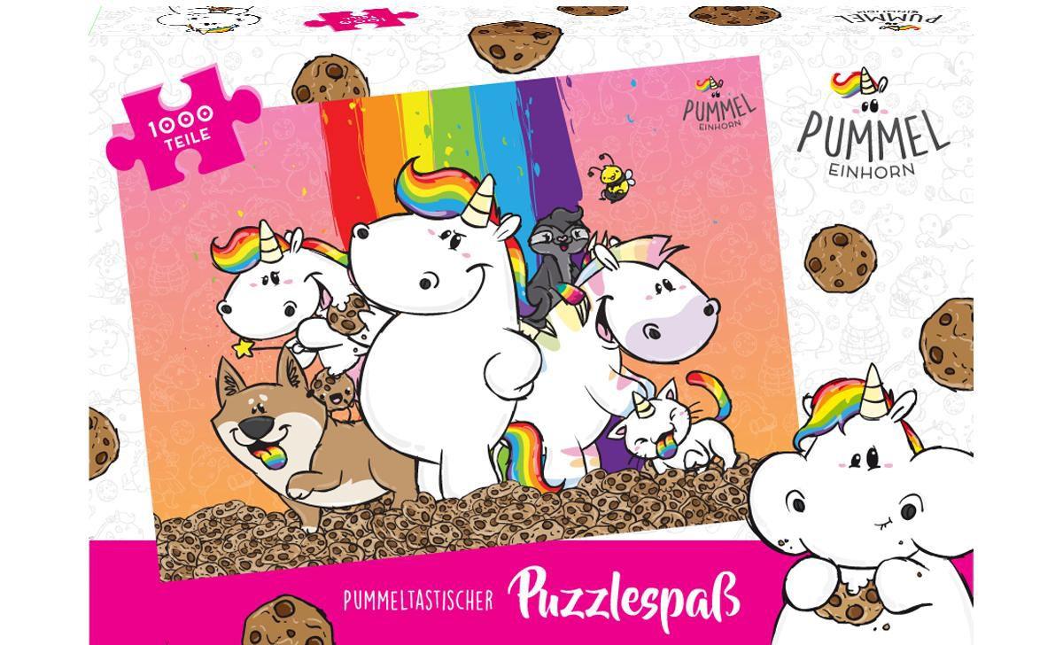 United Labels Puzzle, 1000 Teile, »Pummeleinhor...