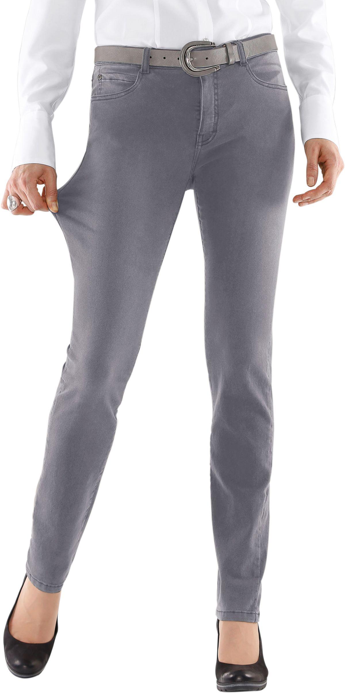 Collection L. Jeans mit rückwärtigem Sattel