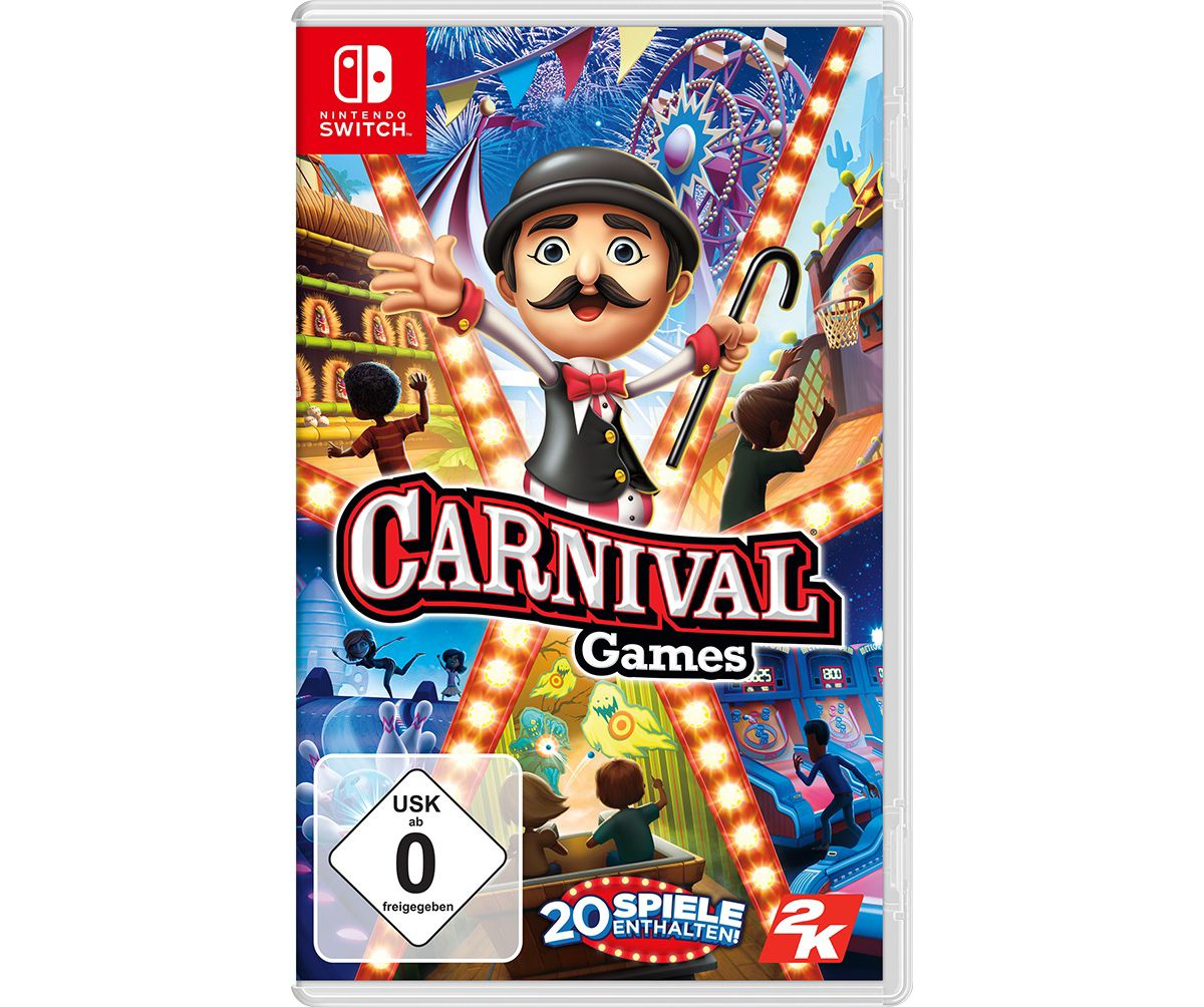 2K Nintendo Switch - Spiel »Carnival Games«