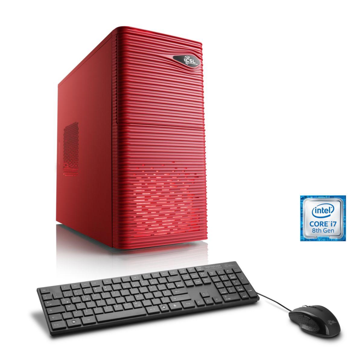 CSL Gaming PC | Core i5-8500 | GeForce GTX 1060...