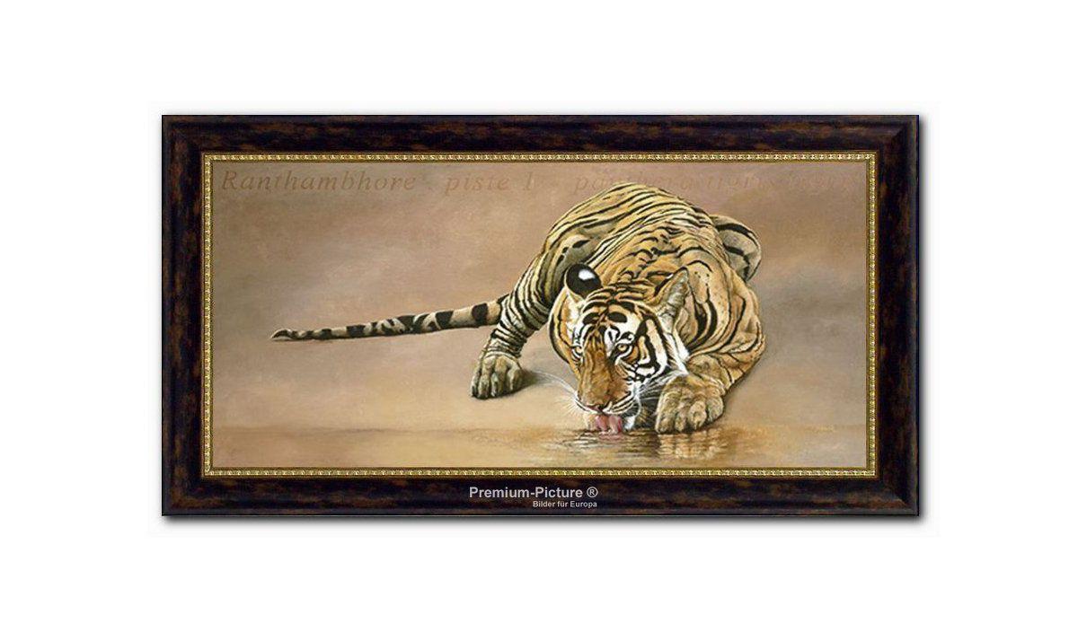XXL Wandbild, PREMIUM PICTURE, »Tiger«, 115x65cm