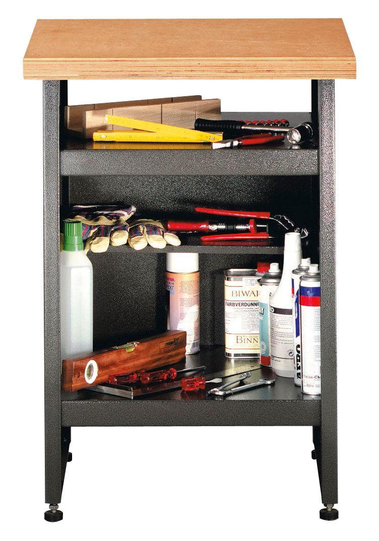 beistelltisch ohne schubladen grau schwab versand werkb nke. Black Bedroom Furniture Sets. Home Design Ideas