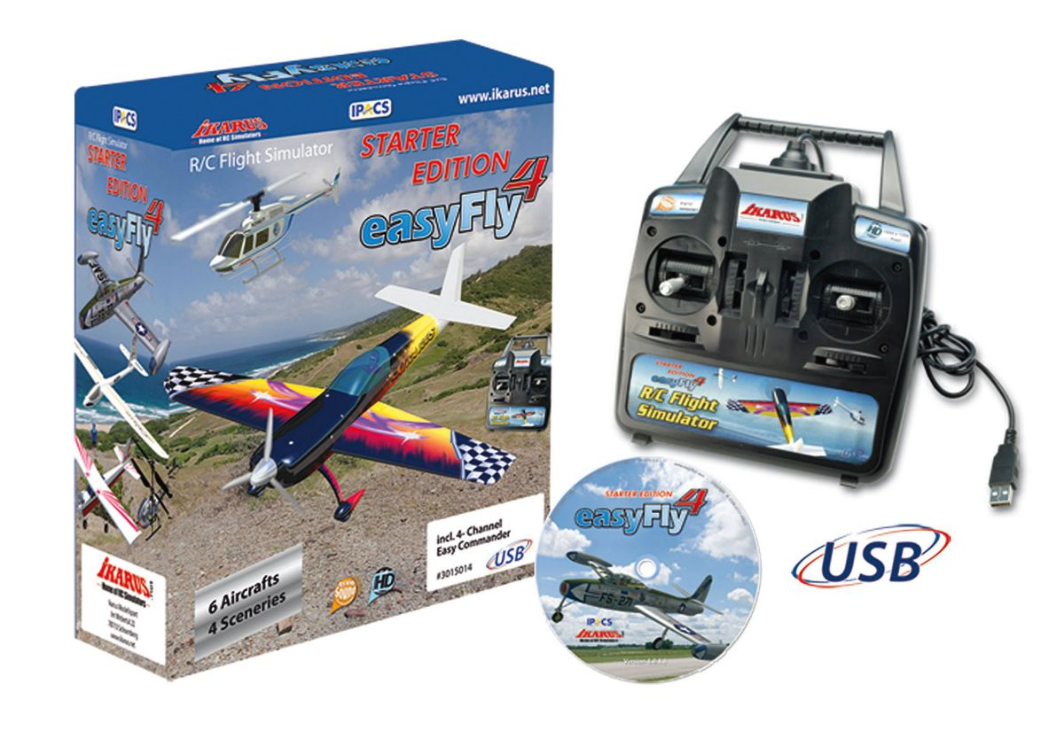 JAMARA, Flugsimulator, »Easy Fly 4 Starter Set ...