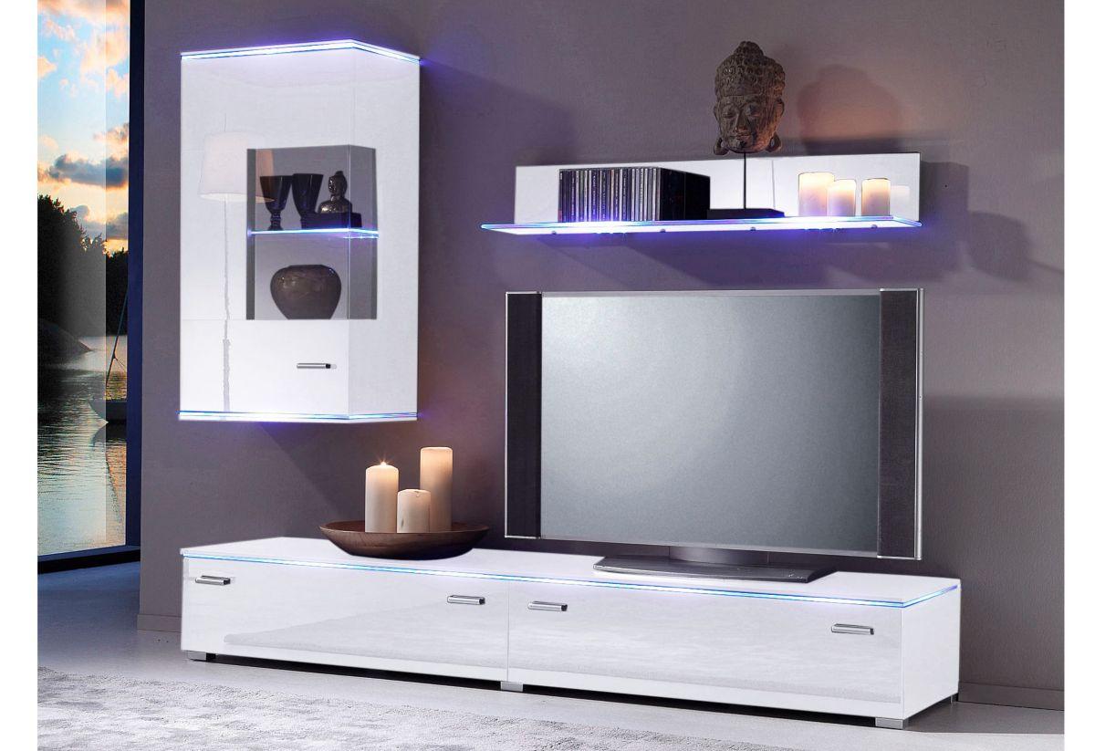 wohnwand 8 tlg billig kaufen. Black Bedroom Furniture Sets. Home Design Ideas