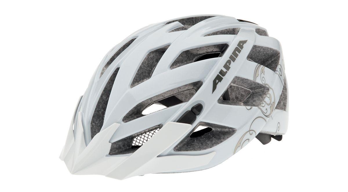 black-white 51-63 cm Alpina Fahrradhelm Tour SKID 2.0 L.E Gr