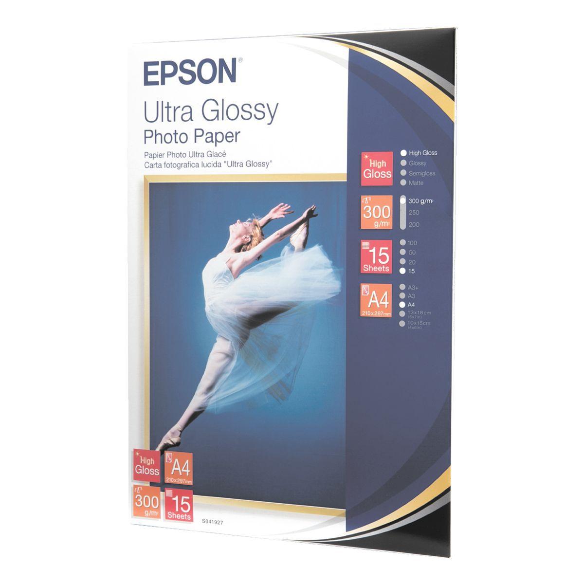 Epson Fotopapier �Ultra Glossy Photo Paper�