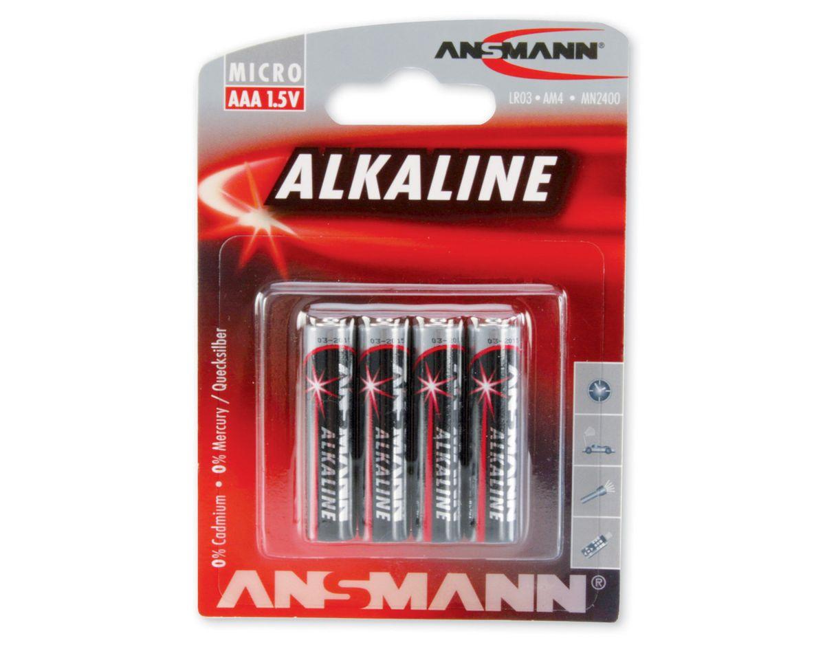Microbatterien, Ansmann, »Alkaline«