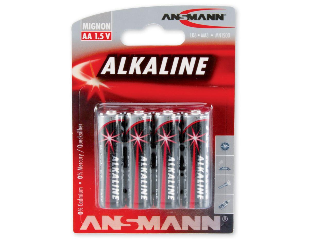 Mignonbatterien, Ansmann, »Alkaline«