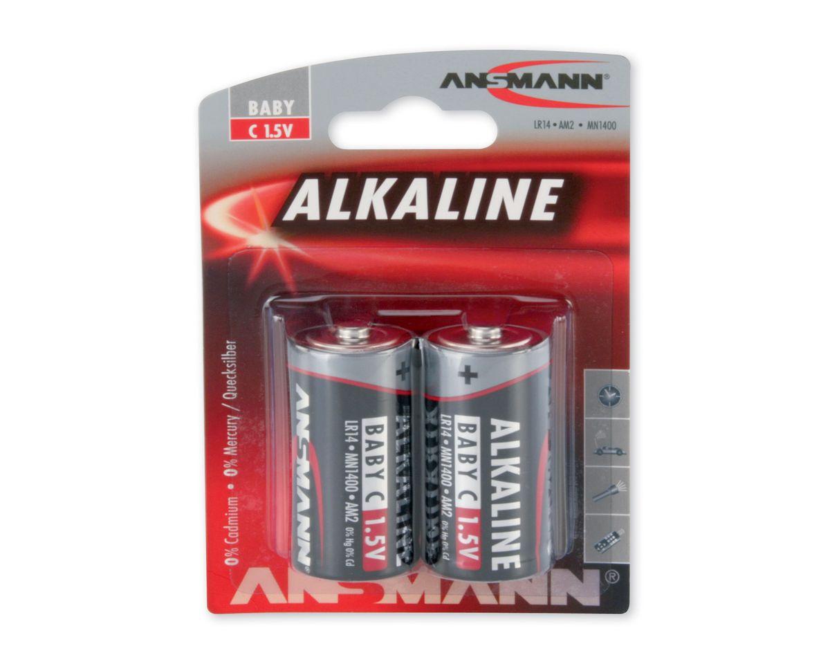 Babybatterien, Ansmann, »Alkaline«