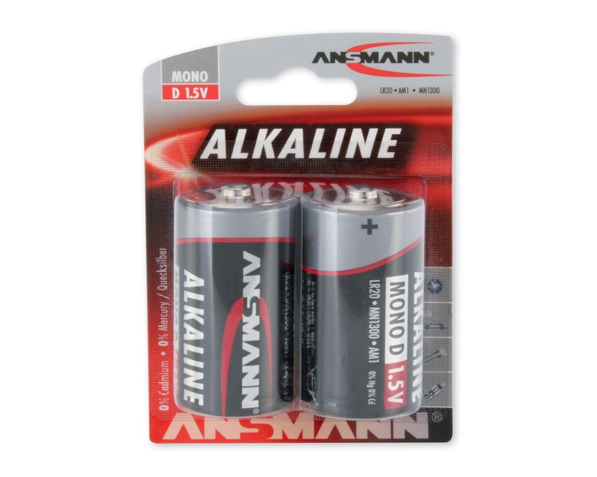 Monobatterien, Ansmann, »Alkaline«