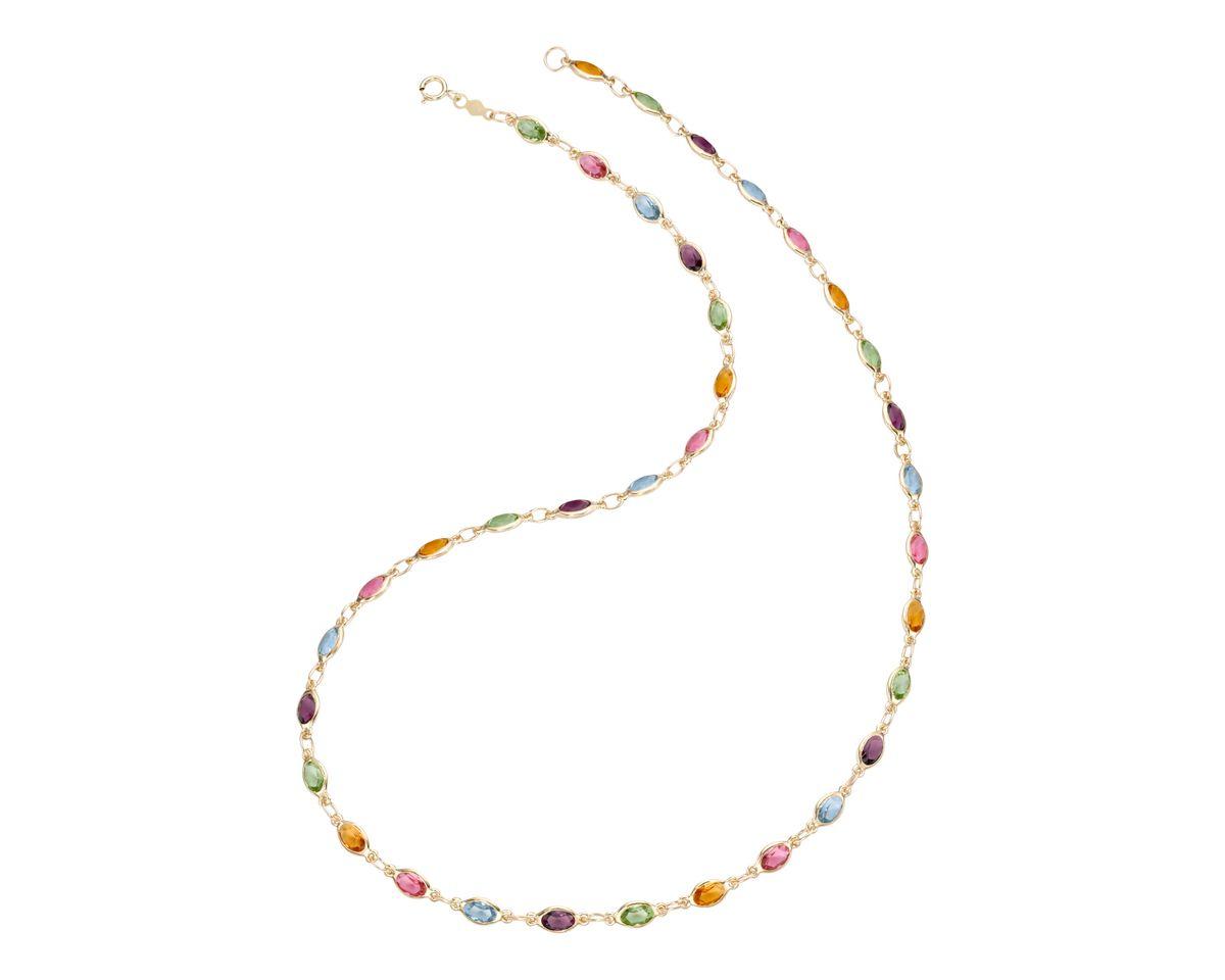 firetti Halsschmuck: Halskette mit Zirkonia