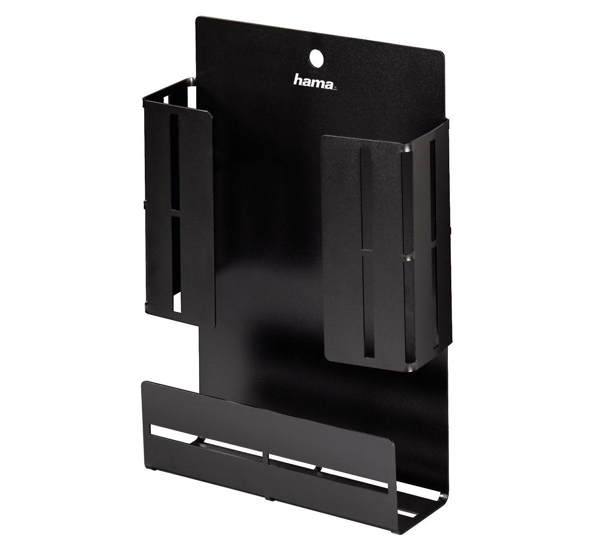 Hama TV-Zubehör-Box, Metall, groß, 15 x 4,5 x 2...