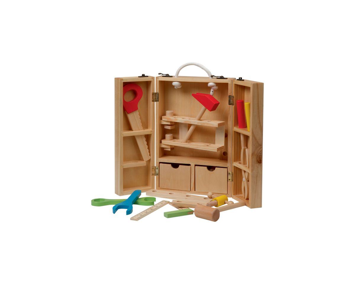 Roba, Werkzeugkoffer,  klappbar  (29tlg.) Preisvergleich