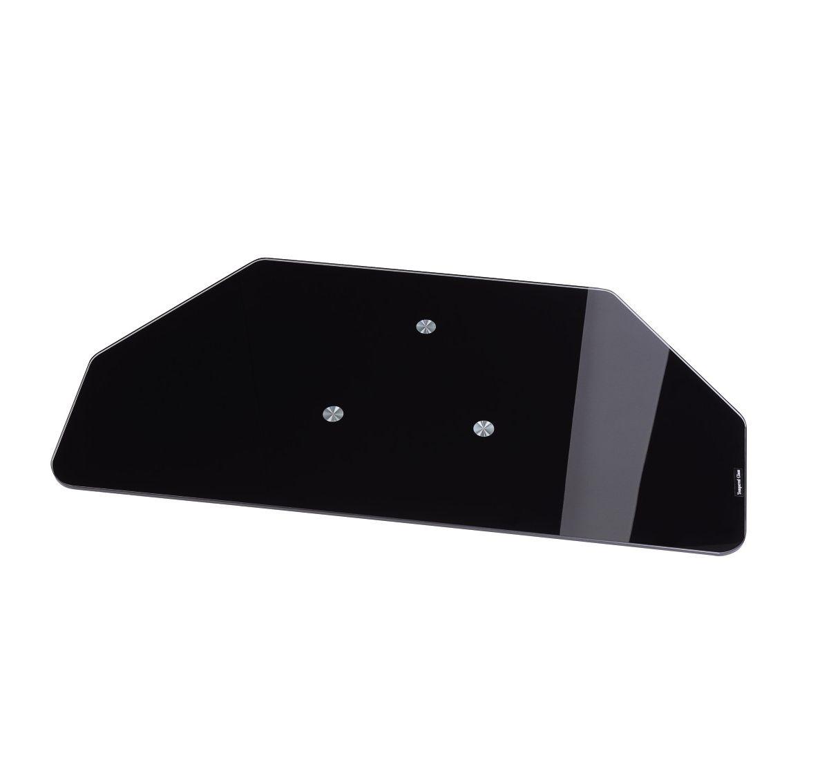 Hama TV-Drehteller, Glas, schwarz, Breite 60 cm