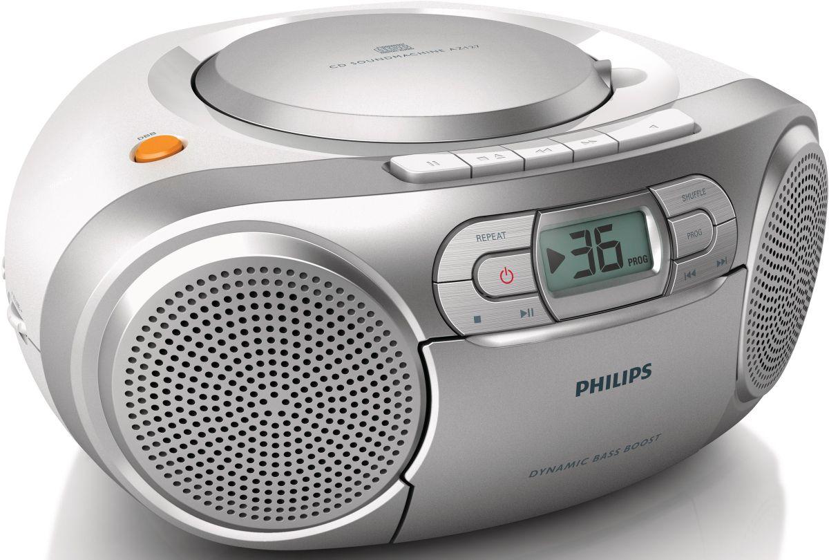 Philips AZ127/12 CD-Soundmachine, Radio, Kasset...
