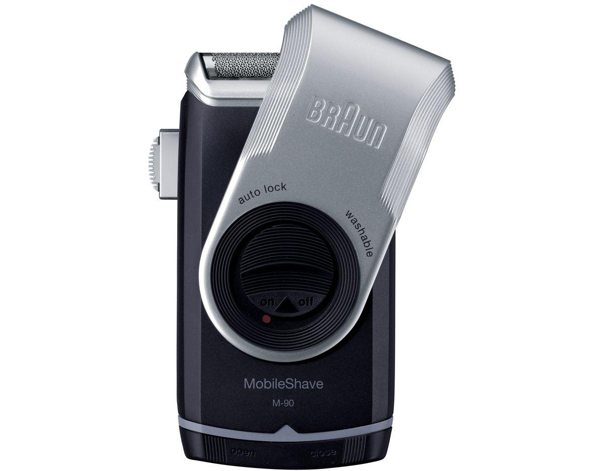 Braun Rasierer PocketGo M90, MobileShave Reiserasierer