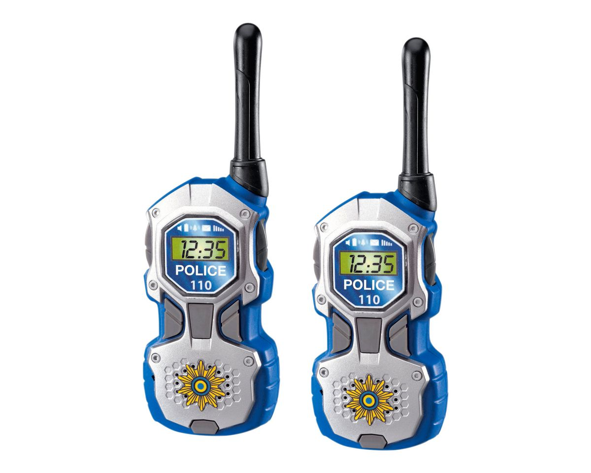 Dickie Toys 2er-Set Walkie-Talkie, »Polizei«