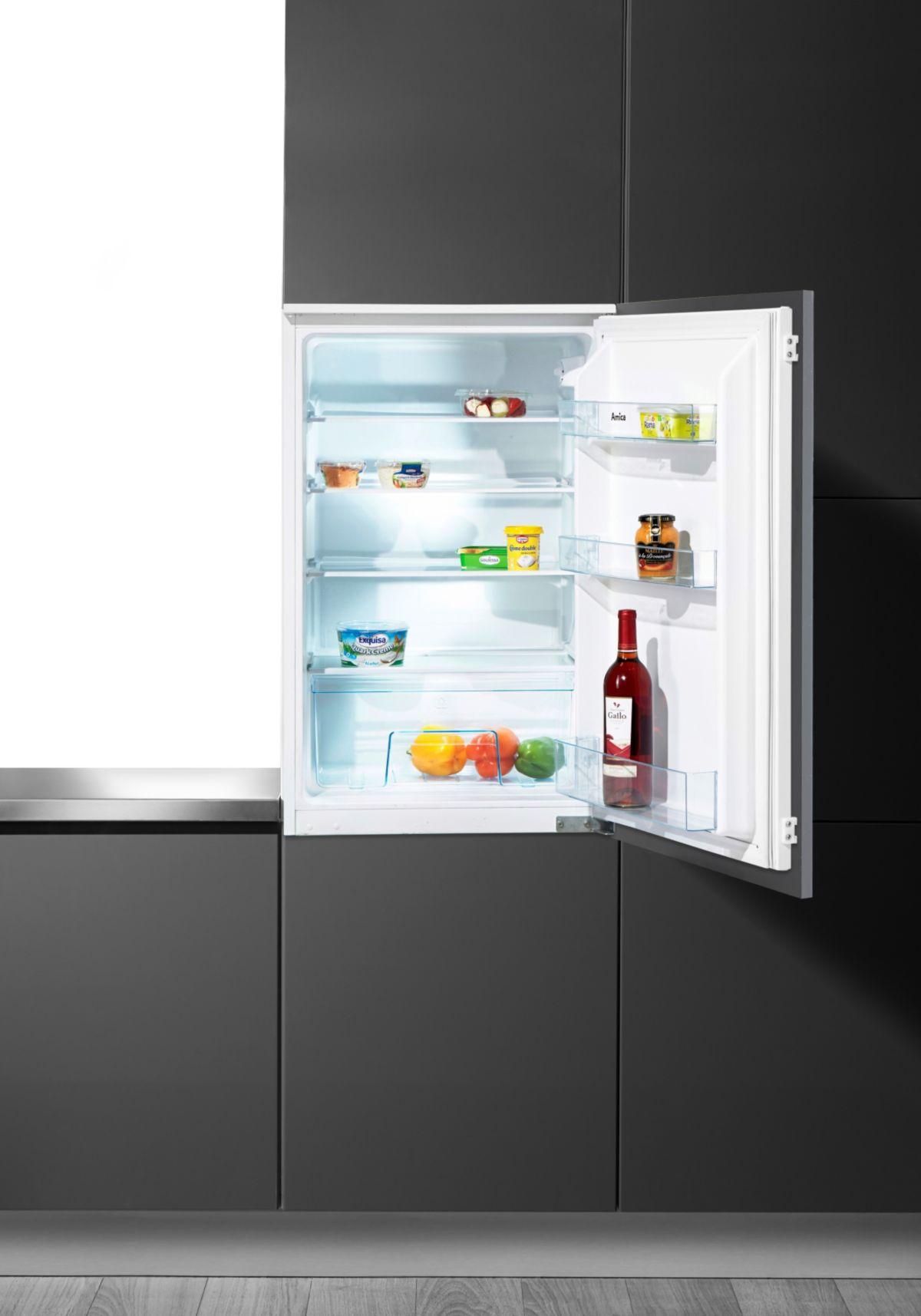 Amica integrierbarer Einbau-Kühlschrank EVKS 16...