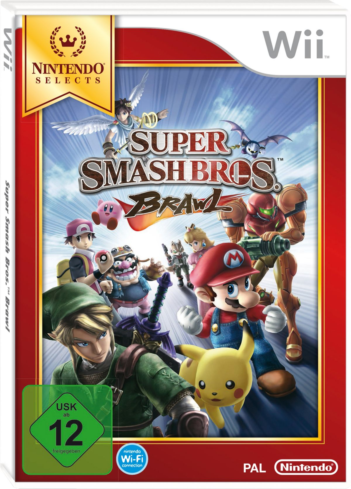 Super Smash Bros. Brawl Nintendo Selects Wii