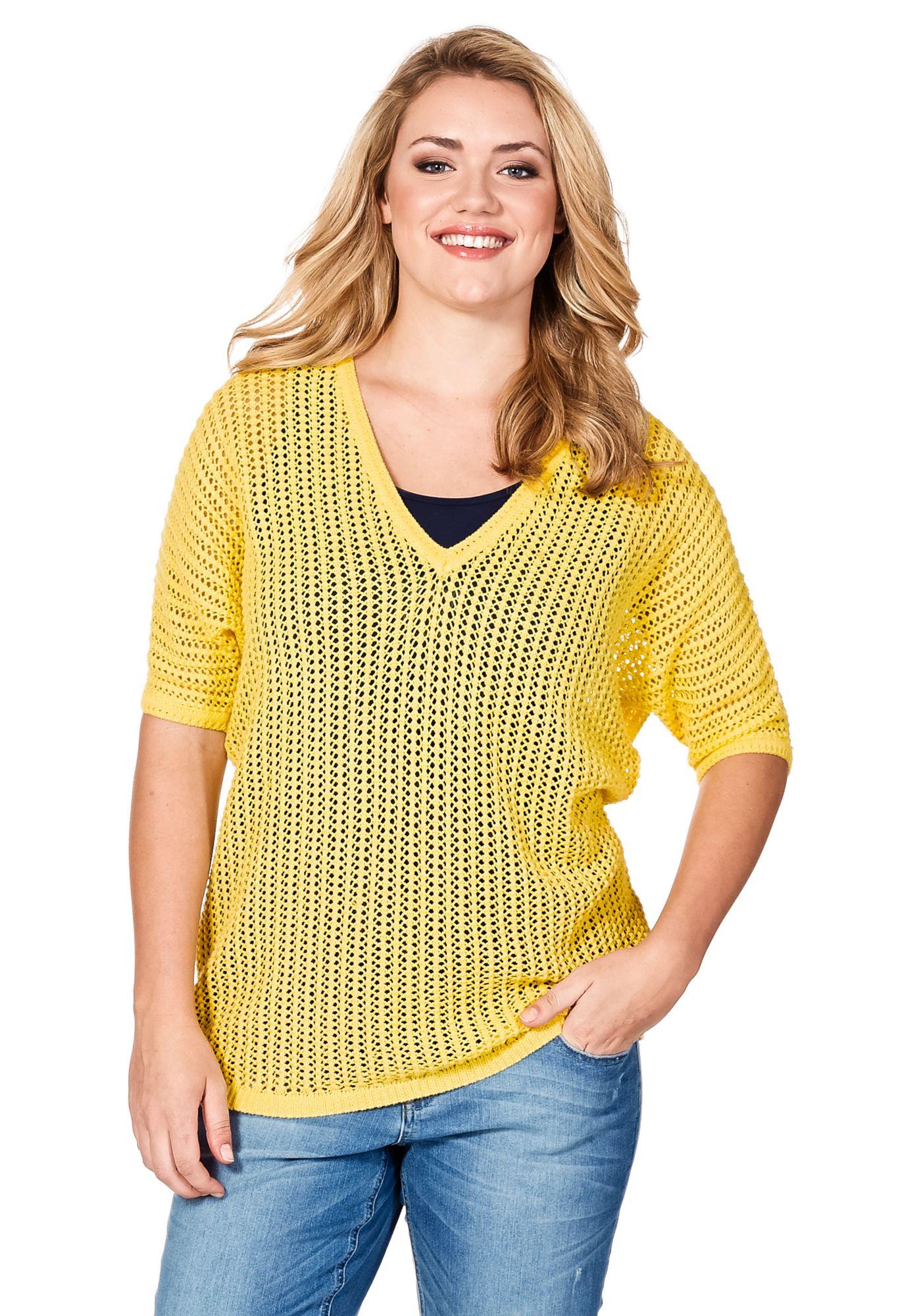 S.OLIVER Sweatshirt gelbgelb 40/42;44/46;48/50;52/54;56/58 gelb