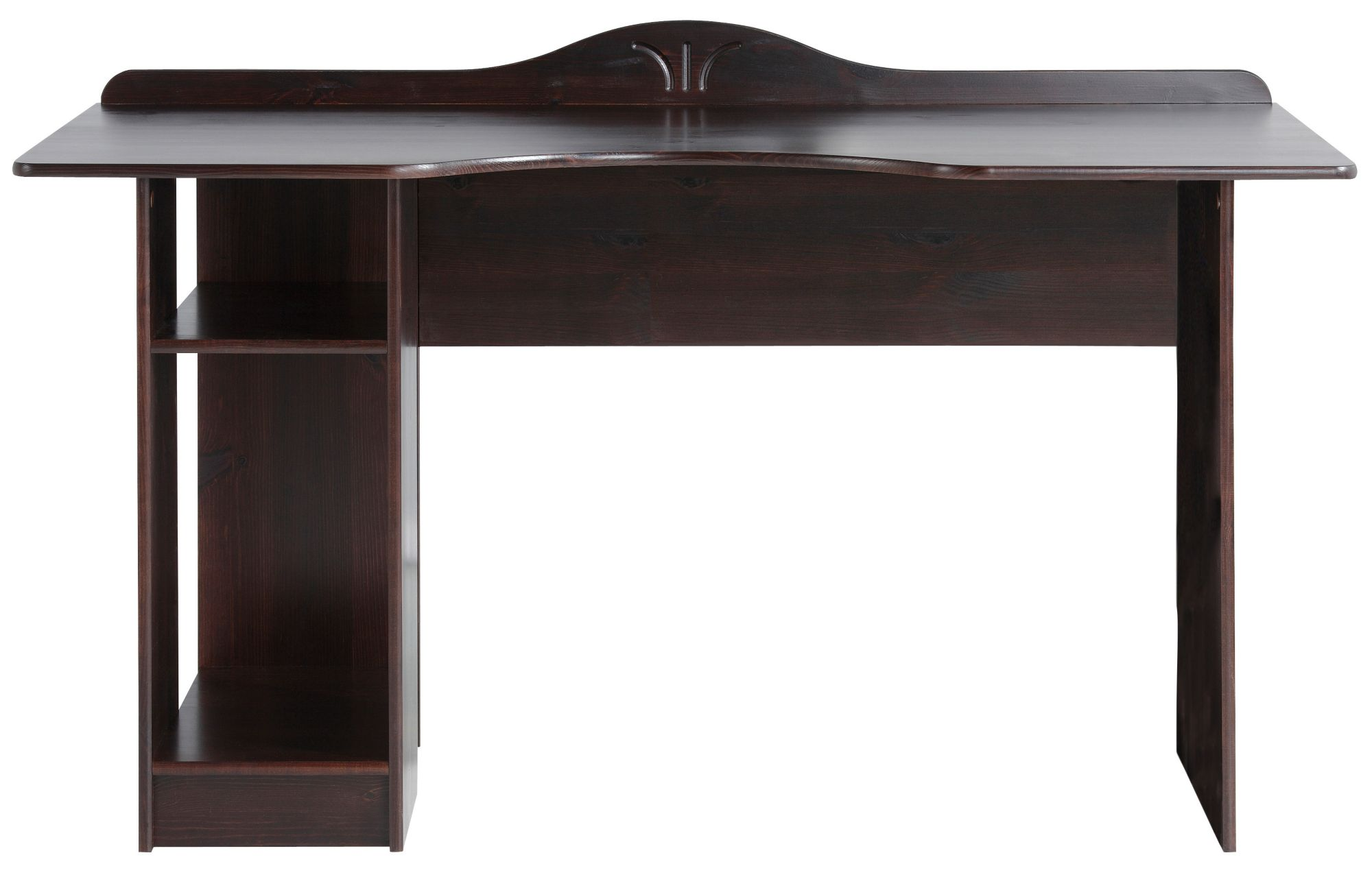 Schreibtisch dunkelbraun b rozubeh r for Schreibtisch dunkelbraun